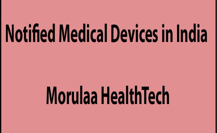 notified medical devices